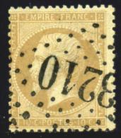 FRANCE 1862 - Yv.#21 Used - 1862 Napoleon III