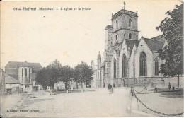 PLOERMEL - 56 - L'Eglise Et La Place - ENCH - - Ploërmel