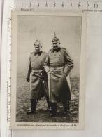 CPA ALLEMAGNE Guerre 1870 - Generaloberst Von Kessel Und Generaloberst Graf Von Moltke - Militaire - Germania