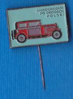 Pin Old Car Oldmobile Oldtimer Poland Samochoden - Badges