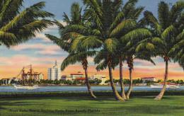 West Palm Beach Skyline From Palm Beach - Palm Beach