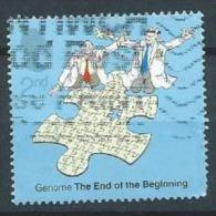 GB 2003 Secrets Of Life: Completing The Genome Jigsaw  2nd  SG 2343 SC 2103 MI 2086 YV 2409 - 1952-.... (Elizabeth II)