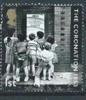 GB 2003 Coronation: East End Children Reading Coronation Party Poster  1st  SG 2369 SC 2128 MI 2122 YV 2445 - 1952-.... (Elizabeth II)
