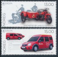 "NORWAY/Norwegen, EUROPA 2013 ""Postal Vehicles"" Set Of 2v** - 2013"