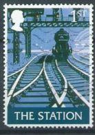 GB 2003 Pub Signs: 'The Station' (Andrew Davidson)  1st  SG 2392 SC 2148 MI 2147 YV 2469 - 1952-.... (Elizabeth II)