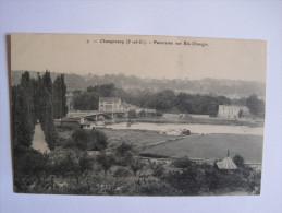 Champrosay - Panorama Sur Ris Orangis - France