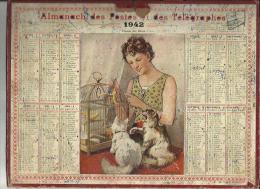 Calendrier Des Postes G-F  Des Pyrenées Orientales 66 De 1942 ( L'Ami Dec Betes ) -Pages Complètes - Big : 1941-60