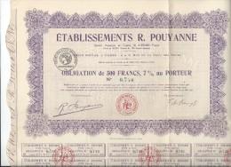 Pouyanne - Industrie