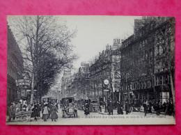 Cpa 75 PARIS 9e Anime Boulevard Des Capucines, Au Coin De La Place De L Opera - Distretto: 09