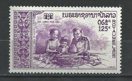"""Laos Aerien YT 87 (PA) """" Année Du Livre """" 1972 Neuf** - Laos"""
