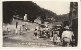Manzanillo Mexico, Town Street Scene Calle Juarez, C1910s Vintage Postcard - Mexico