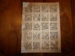 Vers 1900  Imagerie Pellerin      PIERROT DOMESTIQUE                Imagerie D'Epinal  N° 1182 - Vieux Papiers