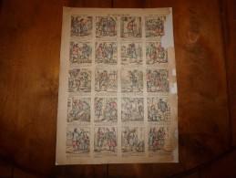 Vers 1900   Pellerin & Cie      LE REVEIL-MATIN                Imagerie D'Epinal  N° 1128 - Vieux Papiers