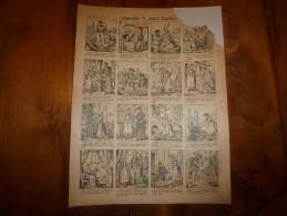 Vers 1900  Imagerie  Pellerin       AUGUSTINE LA PETITE BATELIERE           Imagerie D'Epinal  N° ???? - Vieux Papiers