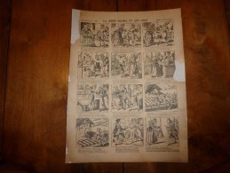 Vers 1900  Imagerie  Pellerin       LA MERE MICHEL ET SON CHAT           Imagerie D'Epinal  N° 444 - Vieux Papiers