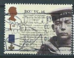 GB 2006 Victoria Cross: Jack Cornwell 1 St  SG 2660 SC 2395 MI 2441 YV 2795 - Used Stamps