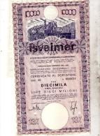 SOCIETÀ  ISVEIMER - Azioni & Titoli