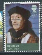 GB  2009 Kings And Queens (Tudors): Henry VII 1 St  SG 2924 SC 2653 MI 2750 YV 3138 - 1952-.... (Elizabeth II)