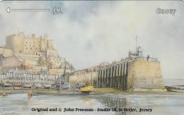 JERSEY ISL. - Jersey Coasts/Gorey, CN : 38JERC(normal 0), Tirage %21400, Used