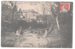 CP LA DESTROUSSE (13 Bouches Du Rhône) Villa Brion Animée Enfants Femmes - France