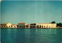 GUINE BISSAU PORTUGUESE GUINEA GUINEE AVENIDA MARGINAL VISTA DO RIO GEBA (2 SCANS) - Guinea-Bissau