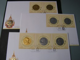 == Thailand   3  FDC 2011 - Thailand