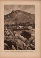 Der Berg Indrabetta Vom Tempelberg Chandragiri Aus - Druck, Entnommen Aus Velhagen Und Klasings- Monatsheften/ 1924 - Zeitungen & Zeitschriften