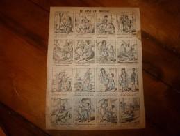 Vers 1900   Imagerie   Pellerin               LE RÊVE DU MOUSSE.                Imagerie D'Epinal  N° 813 - Verzamelingen