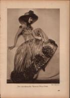 Die Amerikanische Tänzerin Dora Duba - Druck, Entnommen Aus Velhagen Und Klasings- Monatsheften/ 1924 - Zeitungen & Zeitschriften