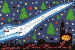 Concorde : édité Par CAC De Rossfeld Bas/Rh) Dessin De Patrick Hamm (Joyeux Noël Et Bo An) - Concorde