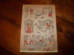 Vers 1900   Imagerie   Pellerin      IMAGES AMUSANTES  (manque Titre)      Imagerie D'Epinal  N° ???? - Vieux Papiers
