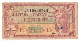 USA      5 CENTS      (1961)      P. M 43      (voir 2 scans)