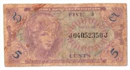 USA      5 CENTS      (1965)      P. M 57      (voir 2 scans)