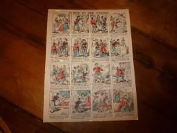 Vers 1900      Pellerin & Cie              LA REINE AUX TROIS COULEURS.               Imagerie D'Epinal  N° 819 - Verzamelingen