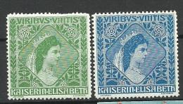 �STERREICH Austria Keiserin Elisabeth MNH
