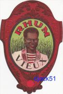 Ancienne Etiquette RHUM VIEUX - Rhum