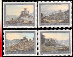 Liechtenstein 1551/54**  Architecture  MNH