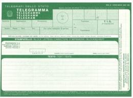 Documenti - Modello Telegramma - Materiale E Accessori