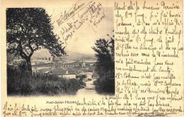 Carte Postale Ancienne De PONT ST VINCENT - Otros Municipios