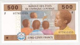 GUINEE EQUATORIALE      500 FRANCS      2007      P. 506 F      UNC      (voir 2 Scans) - Centraal-Afrikaanse Staten