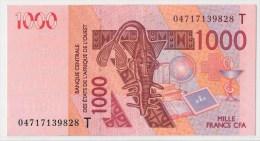TOGO      1 000 FRANCS      2004      P. 815Tb      AUNC      (voir 2 Scans) - West-Afrikaanse Staten