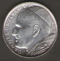 VATICANO 500 LIRE AN II IOANNES PAULUS II - Vaticano