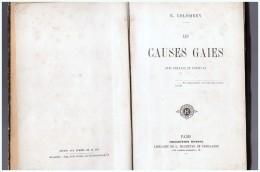 Les Causes Gaies Colombey E. Collection Hetzel Histoires Droles - Culture