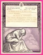 Télégramme-Chromo - 1952 - ROYAUME De BELGIQUE - Format 20 X 25cm - JEAN DONNAY - Brugge - Bruxelles Dailly - Stamped Stationery