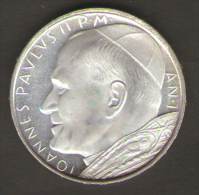 VATICANO 500 LIRE AN I IOANNES PAULUS II - Vaticano