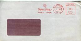 EMA Santé,orthopedie,Hans Blum Gmbh,bandage Orthopedique,3014 Laatzen,Allemagne,lettre 6.1.1984 - Medizin