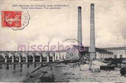 24 -  TUILLIERES -  Usine  électrique -  Vue Générale - 1913 - 2  Scans - Francia