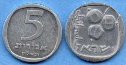 ISRAEL   5  AGOROT  1977 Alu  KM# 25b - Israel