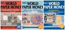 3 Complète Catalogues De Billets Du Monde 1368-2017 DVD - Books & Software