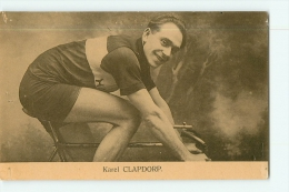 Karel CLAPDORP . 2 Scans. Nels Sportkaarten Frank - Cyclisme